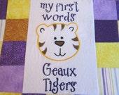 LSU Tiger Baby Nursery Decoration