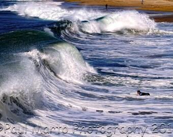"Thunderous Surf, Photograph, Presented as an 8"" x 12"" Print"