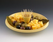 Hostess Tray / ServingTray / Party Tray - yellow