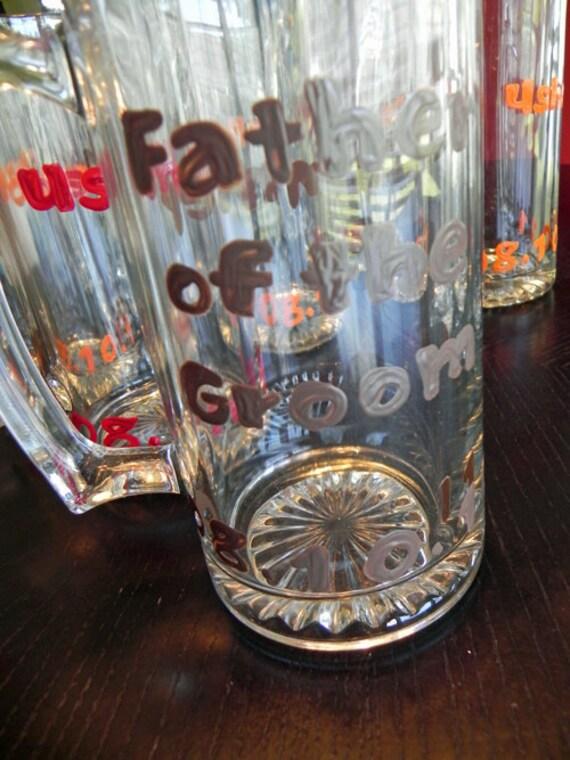 Father of the Groom Beer Mug