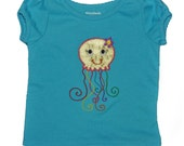 Miss Jelllyfish Applique Shirt