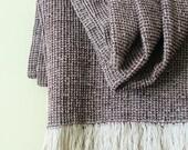 Vintage linen blanket