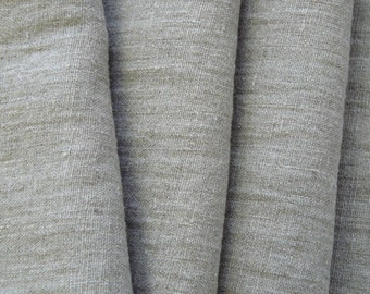 ECO FRIENDLY Pure light linen fabric  with softening
