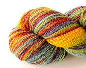 100 g Kauni rainbow self striping variegated wool effectyarn 8/2