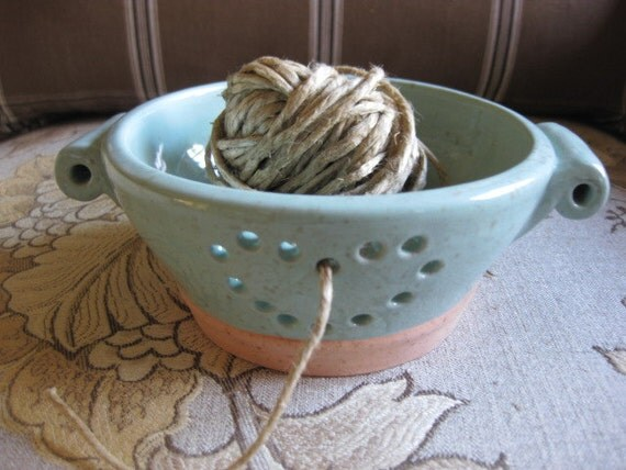 RESERVED FOR ANNA Berry Fruit Colander or Yarn Bowl