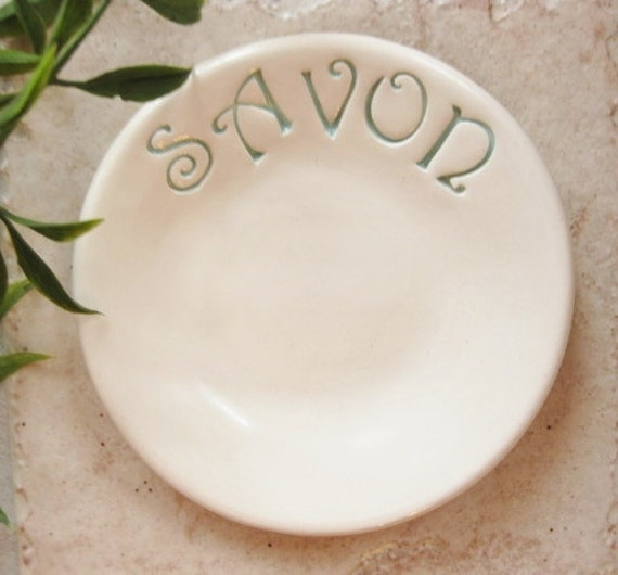 Shabby French Soap Dish