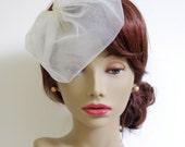 Petite Bridal Tulle Blusher Veil : V014 made to order, white, ivory, champagne, black