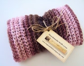 Pink Crochet Baby Cocoon Bowl/ Ready To Mail/ OOAK/ On Sale/  Free Shipping