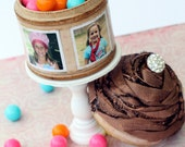 Photo Cupcake Treasure Memory Box