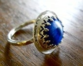 Queensblu Ring