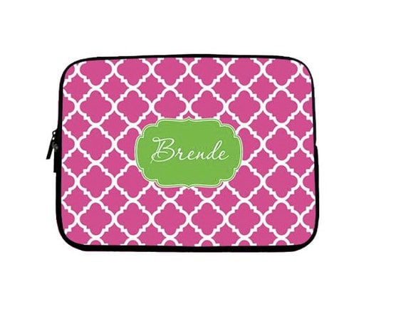 Personalized Laptop Case - Avail in 3 Sizes- Choose Colors