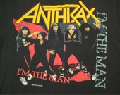 Original ANTHRAX vintage 1987 TOUR SHIRT