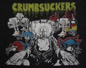 Original CRUMBSUCKERS vintage 80s T SHIRT cro mags