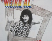 Original WIELD AL Yankovic vintage 1984 tour TSHIRT