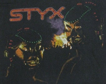 Original STYX 1982 vintage tour SHIRT