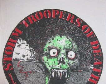 Original S.O.D. Stormtroopers of Death vintage 80s SHIRT