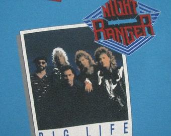 Original NIGHT RANGER 1987 tour SHIRT