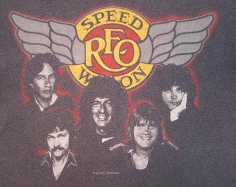 Original REO SPEEDWAGON vintage 1983 tour TSHIRT
