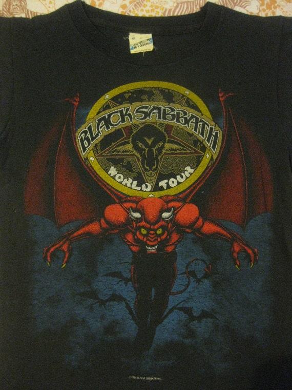 Vintage BLACK SABBATH 1981 tour T SHIRT