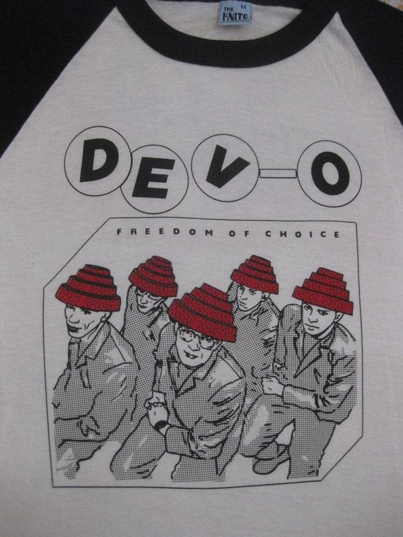 Original DEVO 1979 vintage tour SHIRT