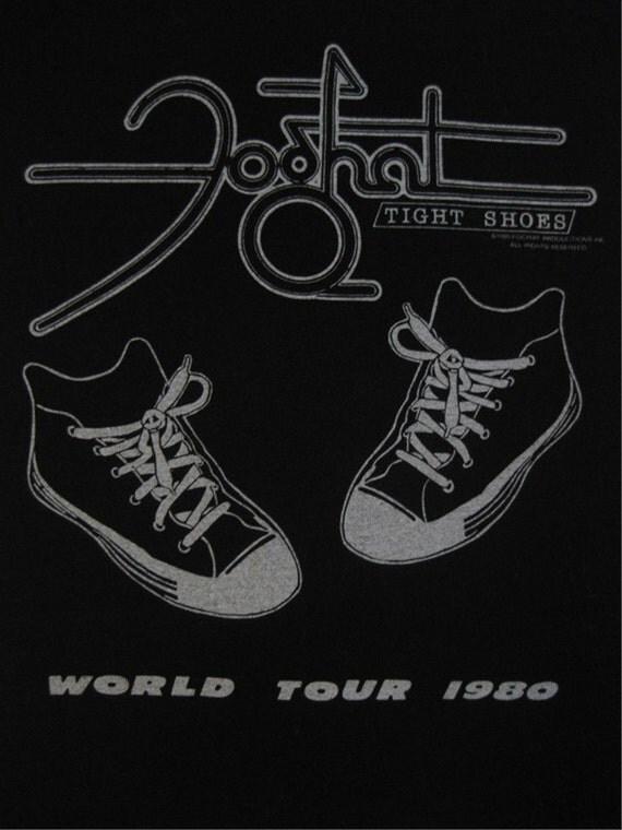 Original FOGHAT vintage 1980 tour TSHIRT
