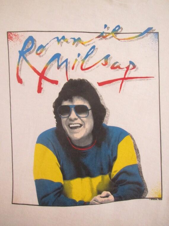 Original RONNIE MILSAP 80s tour TSHIRT