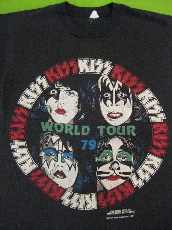 Original KISS vintage 1978 tour SHIRT