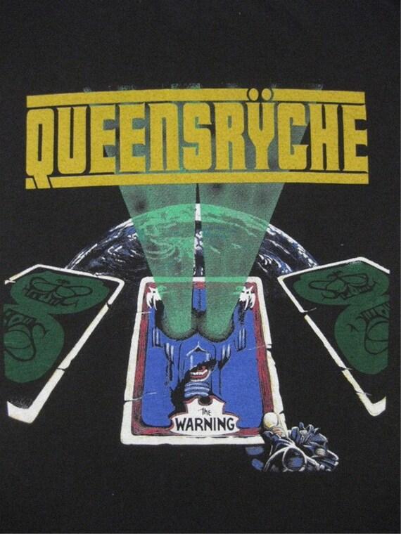 Original QUEENSRYCHE vintage 1984 tour SHIRT