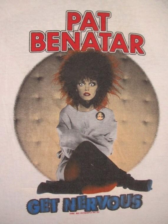 Original PAT BENATAR 1983 tour SHIRT jersey xl