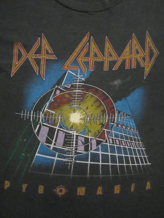 Original DEF LEPPARD 1983 tour T SHIRT