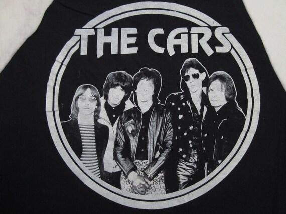 Original THE CARS 70s tour T SHIRT