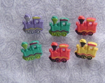 Painted Trains - Buttons/Embellishments