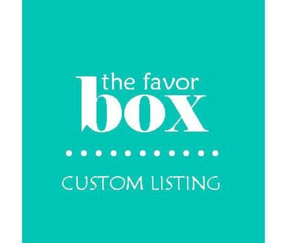 Custom Listing for Chelsea Baum