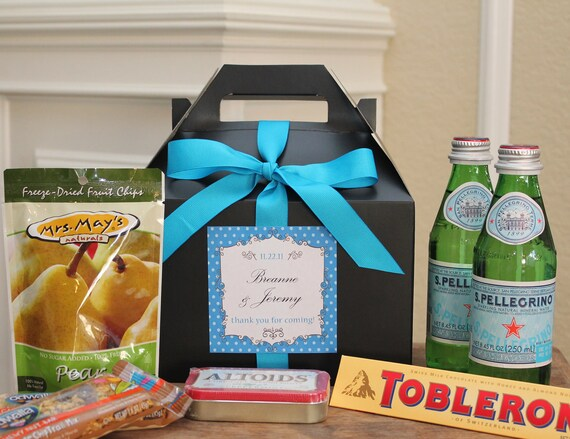 Gift Bags For Weddings For Hotel Guests: Items Similar To Set Of 6