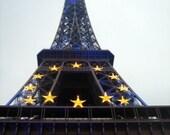 Eiffel Celebrates with the Seasons - fine art photograph - 4x6 5x7 8x10 11x14