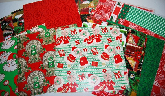 Vintage Wrapping Paper Collection