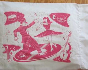 Pink Swing Time Pillowcases