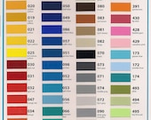 10 sheets --(12 by 12 inch)  of Oracal 631 matte  vinyl  (same as cricut vinyl) NEW COLORS ADDED