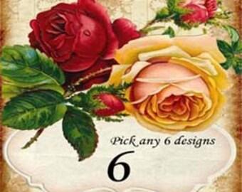 Digital Art Sale SALE - Pick Any 6 Digital Files - Special Offer
