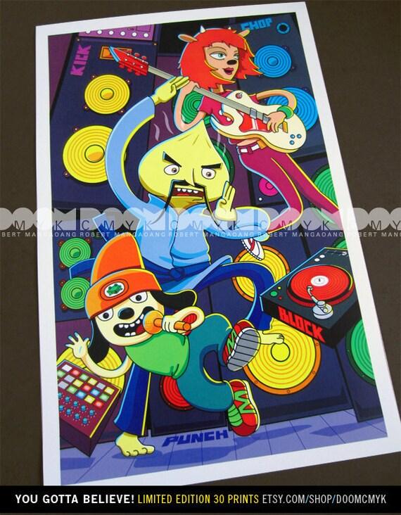 Limited Edition You Gotta Believe fan art poster 30 prints