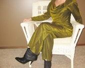Vintage 60's Gold Jumpsuit....40% off sale enter coupon code 4048HOUR