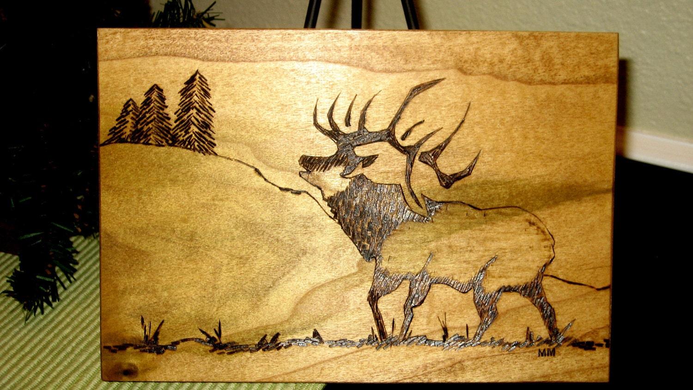 Deer Wood Burning Designs The Image Kid
