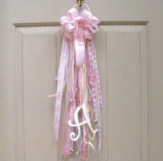Baby door mum baby decor baby girl nursery decoration new for Baby girl hospital door decoration