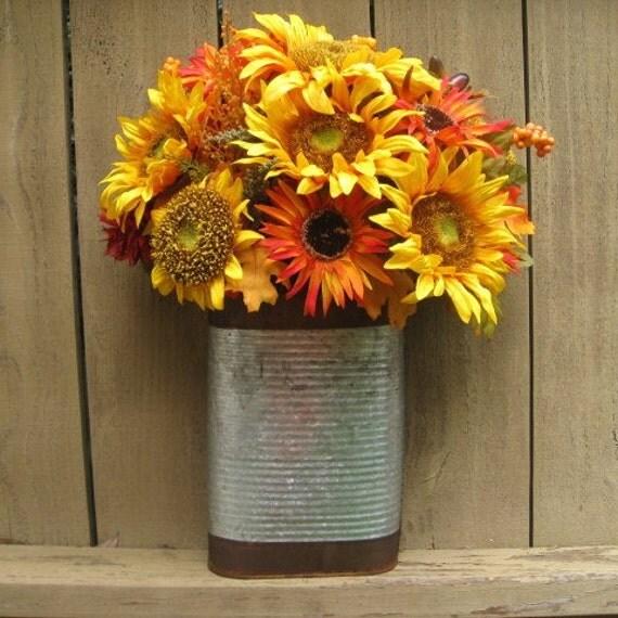 RESERVED For NEVELYN S - Sunflower Wreath, Summer Wreaths, Orange Yellow Wreath, Outdoor Wreath, Farmhouse Decor, Rustic Wreath Alternative