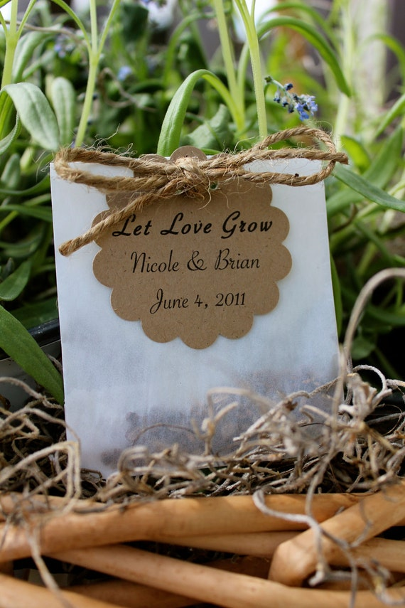 wedding favor flower seeds items similar to wildflower seed favor personalized on etsy 9453