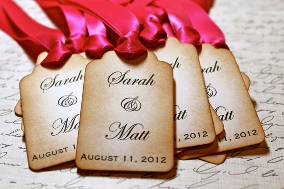 RESERVED FOR JODI - Vintage Inspired Personalized Tags