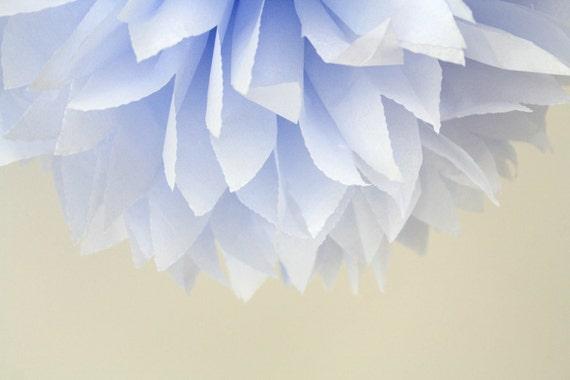 tissue pom ... thistle .... 1 paper pom