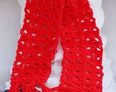 Red Broomstick Scarf - Weekly Special