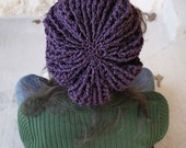 CLEARANCE Amethyst Slouch Hat