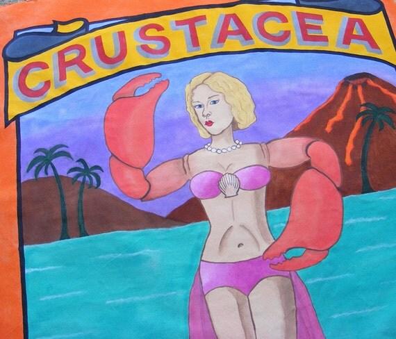 Crustacea - Original Sideshow Banner OOAK